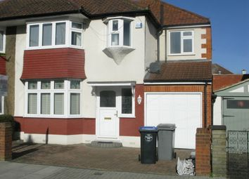 Thumbnail 4 bedroom semi-detached house to rent in Sherrick Green Road, Willesden Green