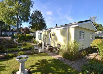 Thumbnail 2 bedroom mobile/park home for sale in Rustic Glen, Grange Estate, Church Crookham, Fleet