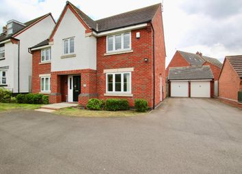 Thumbnail 4 bed detached house for sale in Padside Close, Leicester