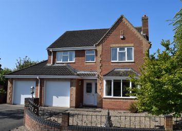 Thumbnail 4 bed detached house for sale in Burnside, Broughton, Brigg