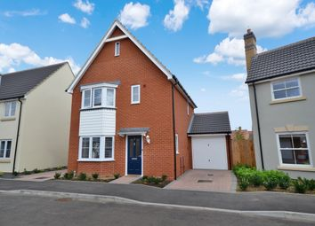 Thumbnail 3 bed detached house for sale in Almond Road, Dunmow