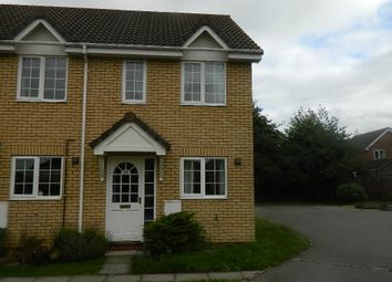 Thumbnail 2 bedroom end terrace house to rent in Moat Way, Swavesey