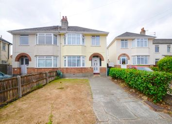 Thumbnail 3 bedroom semi-detached house for sale in Grove Road, Parkstone, Poole
