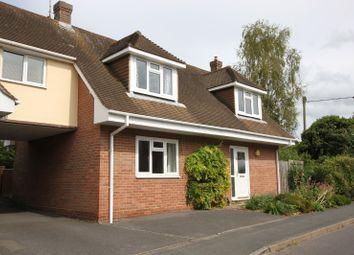 Thumbnail 3 bed link-detached house for sale in Kings Somborne, Stockbridge, Hampshire
