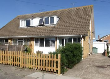 Thumbnail 4 bed semi-detached house for sale in Sherwood Close, Seasalter, Whitstable