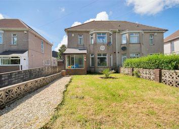 Thumbnail 3 bedroom semi-detached house for sale in Mynydd Newydd Road, Penlan, Swansea, West Glamorgan