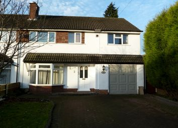 Thumbnail 4 bedroom semi-detached house to rent in Trinity Road, Four Oaks, Sutton Coldfield