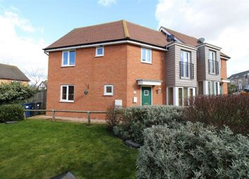 Thumbnail 4 bed semi-detached house for sale in Cromwell Drive, Huntingdon