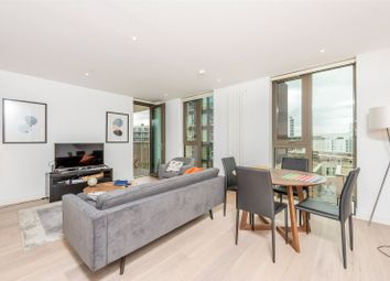 Thumbnail 1 bed flat for sale in Commodore House, Royal Wharf, Royal Docks, London