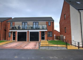 Thumbnail 3 bedroom semi-detached house for sale in Lynemouth Way, Newcastle Upon Tyne