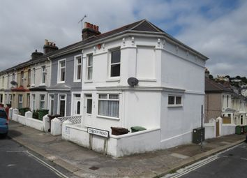 Thumbnail 3 bed end terrace house for sale in Crozier Road, Mutley, Plymouth