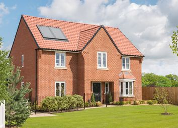 "Thumbnail 4 bed detached house for sale in ""Winstone"" at Oak Road, Halstead"