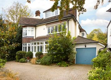Thumbnail 6 bed detached house for sale in Links Road, Epsom, Surrey