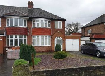 Thumbnail 3 bed property to rent in Wyckham Road, Birmingham