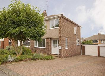 Thumbnail 3 bed semi-detached house to rent in Poplar Avenue, Wetherby, West Yorkshire