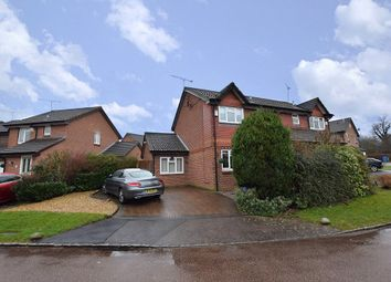 Thumbnail 3 bed semi-detached house for sale in Mary Mead, Warfield, Berkshire