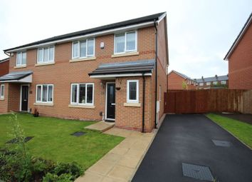 Thumbnail 3 bed semi-detached house for sale in Brandlehow Drive, Middleton, Manchester