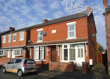 Thumbnail 1 bed flat to rent in School Road, Winsford