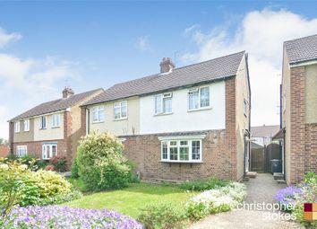 3 bed semi-detached house for sale in Salisbury Crescent, Cheshunt, Waltham Cross, Hertfordshire EN8