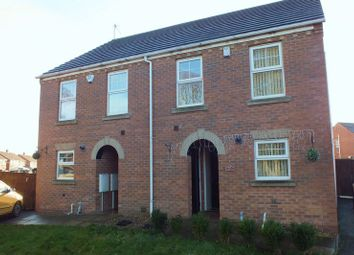 Thumbnail 3 bed semi-detached house to rent in Furlong Road, Tunstall, Stoke-On-Trent