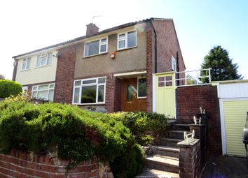 Thumbnail 3 bed semi-detached house for sale in Moss Lane, Cuddington, Northwich