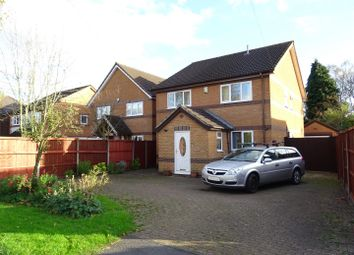 Thumbnail 4 bedroom detached house for sale in Church Lane, Whitwick, Leicestershire