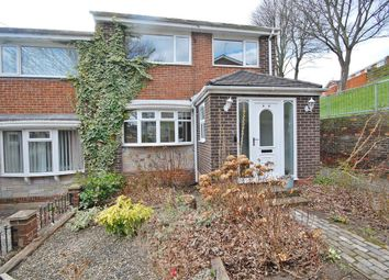 Thumbnail 3 bed semi-detached house for sale in Staindrop Road, Newton Hall, Durham