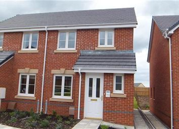 Thumbnail 3 bed semi-detached house to rent in Ffordd Y Dolau, Llanharan, Pontyclun