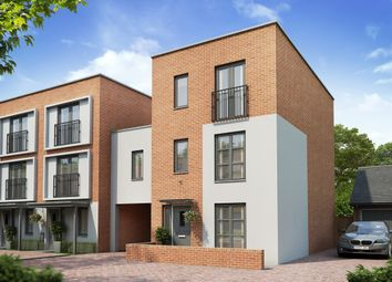 "Thumbnail 5 bedroom terraced house for sale in ""The Hexham +"" at Balmoral Close, Northampton"