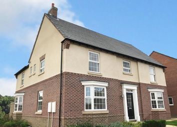 "Thumbnail 5 bedroom detached house for sale in ""Henley"" at Wright Close, Whetstone, Leicester"