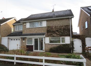 Thumbnail 4 bed detached house for sale in Lutterworth Road, Blaby, Leicester