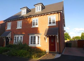 Thumbnail 3 bed semi-detached house for sale in Charlotte Way, Netherton, Peterborough, Cambs