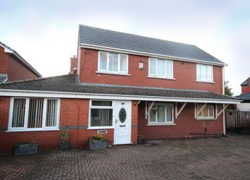 Thumbnail 4 bed detached house for sale in Leyland Green Road, Ashton-In-Makerfield, Wigan