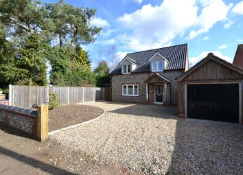 Thumbnail 4 bedroom detached house for sale in Mill Lane, Briston, Melton Constable, Norfolk.