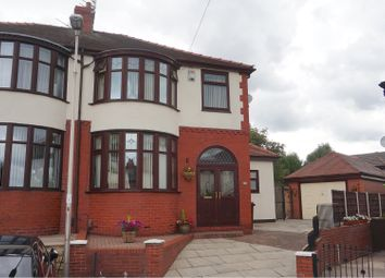 Thumbnail 3 bed semi-detached house for sale in Warwick Grove, Manchester
