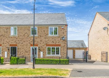 Thumbnail 3 bed semi-detached house for sale in Hardy Way, Fairfield, Hitchin, Herts