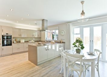 "Thumbnail 5 bed detached house for sale in ""The Highclere Sp"" at Tile Barn Row, Woolton Hill, Newbury"