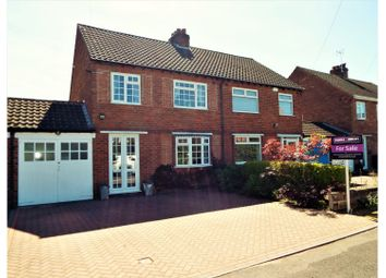 Thumbnail 3 bed semi-detached house for sale in Highters Heath Lane, Birmingham