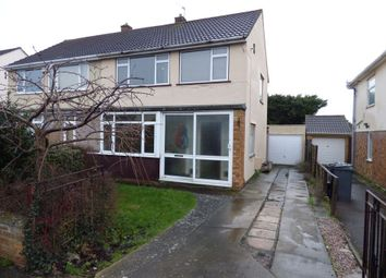 Thumbnail 3 bed semi-detached house for sale in Bradley Avenue, Winterbourne, Bristol, Gloucestershire
