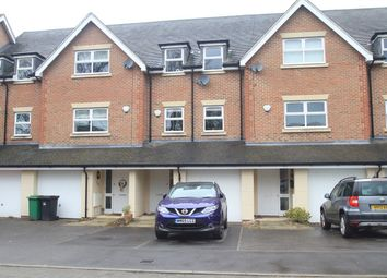 Thumbnail 3 bed town house to rent in Hawthorn Way, Lindford, Bordon