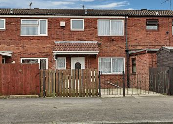 Thumbnail 3 bed terraced house for sale in Cormorant Close, Bransholme, Hull