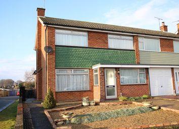 Thumbnail 4 bed semi-detached house for sale in Edinburgh Gardens, Claydon, Ipswich, Suffolk