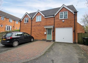 Thumbnail 2 bed detached house for sale in Shaw Gardens, Gedling, Nottingham