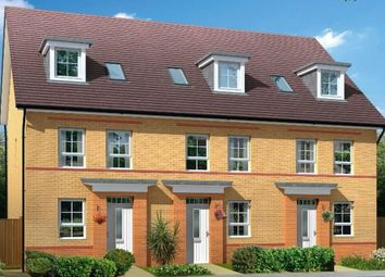"Thumbnail 4 bed terraced house for sale in ""Helmsley"" at Carters Lane, Kiln Farm, Milton Keynes"