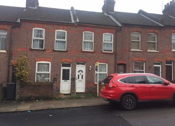 Thumbnail 2 bedroom terraced house to rent in St. Peters Road, Luton