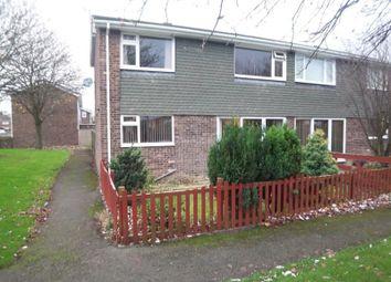 Thumbnail 3 bed semi-detached house to rent in Salisbury Close, Cramlington