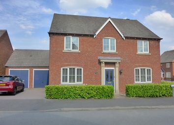 Thumbnail 4 bed detached house for sale in Merry Hurst Place, Hinckley