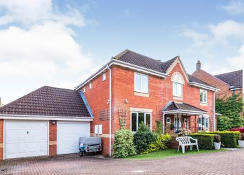 Thumbnail 4 bed detached house for sale in Cuxhaven Way, Andover
