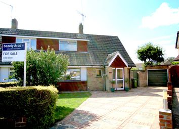 Thumbnail 3 bed semi-detached house for sale in Bush Road, Shepperton