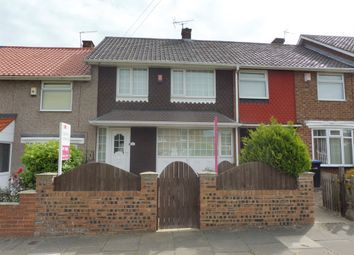 Thumbnail 3 bed terraced house for sale in Bollington Road, Middlesbrough